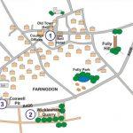 Faringdon Sponge Gravels, location map